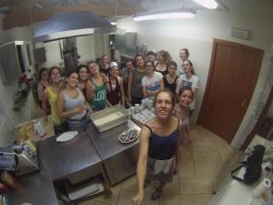 selfie in cucina